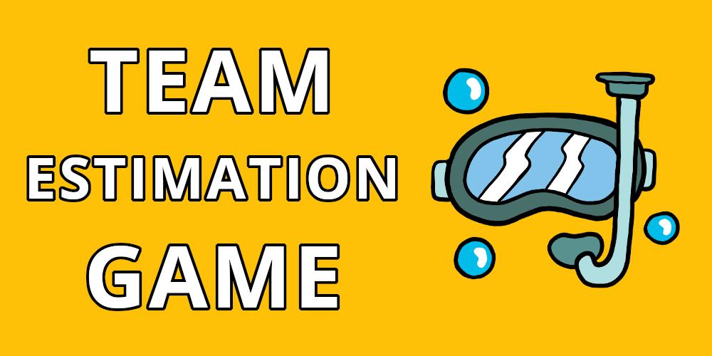 Team estimation game